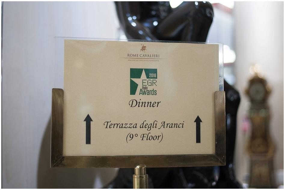 EGR Italy Awards 2016 - Rome Hilton